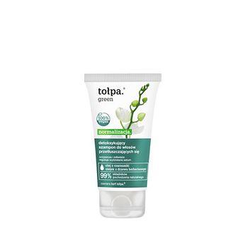 detoksykujący szampon do włosów przetłuszczających się, 75 ml