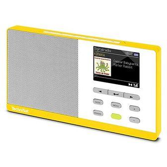 Radio TECHNISAT Digitradio Kira 1 Żółto-biały