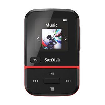 Odtwarzacz MP3 SANDISK Clip Sport Go Czarno-czerwony 32GB