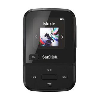 Odtwarzacz MP3 SANDISK Clip Sport Go Czarny 32GB