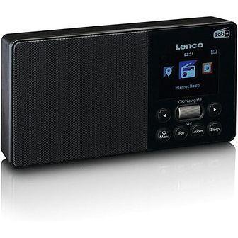 Radio internetowe LENCO PIR-510BK Czarny
