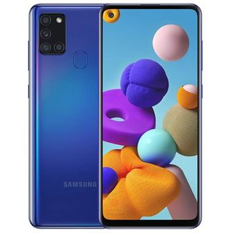 Smartfon SAMSUNG Galaxy A21s Niebieski SM-A217
