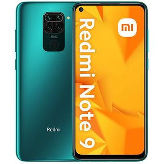 Smartfon XIAOMI Redmi Note 9 3/64GB Zielony
