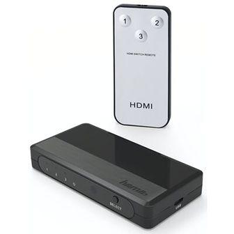 Przełącznik HAMA 121760 HDMI 3x1