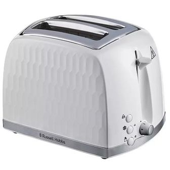 Toster RUSSELL HOBBS Honey Comb 26060-56 Biały