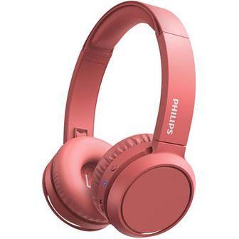 Słuchawki nauszne PHILIPS TAH4205RD Czerwony