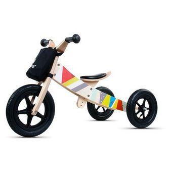 Rowerek biegowy SUN BABY Twist 2w1 Classic Wielokolorowy