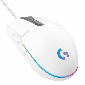 Mysz LOGITECH G102 Lightsync Biały