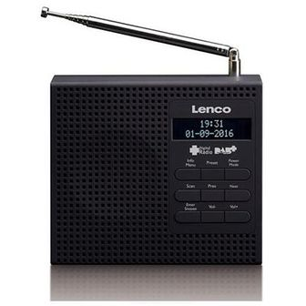 Radio LENCO PDR-020B Czarny