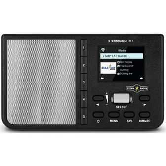 Radio internetowe TECHNISAT Sternradio IR 1 Czarny