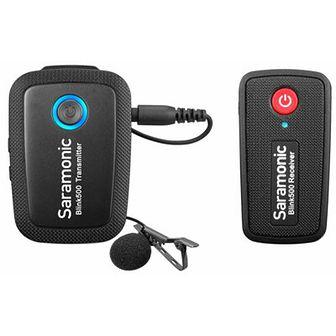 Bezprzewodowy zestaw audio SARAMONIC Blink500 B1 RX + TX