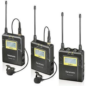Bezprzewodowy zestaw audio SARAMONIC UwMic9 RX9 + TX9 + TX9