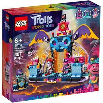 LEGO Trolls World Tour Koncert w Volcano Rock City 41254