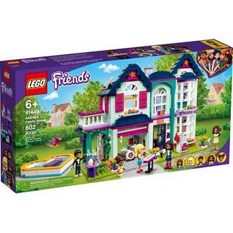 LEGO Friends Dom rodzinny Andrei 41449