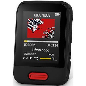 Odtwarzacz MP3 SENCOR SFP 7716 16 GB Czarny