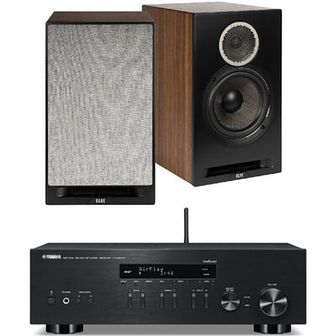 Zestaw stereo YAMAHA MusicCast R-N303D Czarny/ELAC Debut Reference B6 Czarny