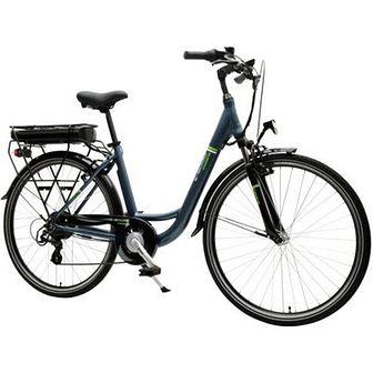 Rower elektryczny INDIANA E8000 D18 28 cali damski Niebieski