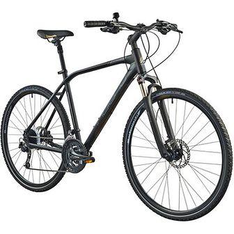 Rower crossowy INDIANA X-Cross 5.0 M21 męski Czarno-brązowy