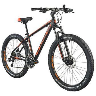 Rower górski MTB INDIANA X-Enduro 2.7 M17 27.5 cala męski Czarno-pomarańczowy