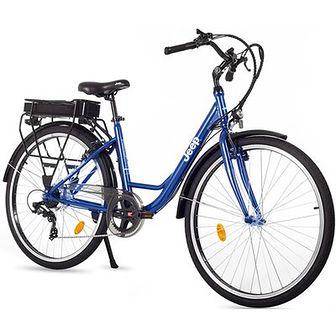 Rower elektryczny JEEP JE-28 D17 28 cali damski Niebieski