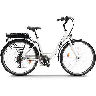 Rower elektryczny JEEP JE-28 D17 28 cali damski Biały