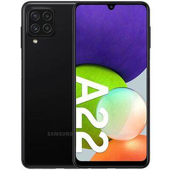 "Smartfon SAMSUNG Galaxy A22 4/64GB 6.4"" 90Hz Czarny SM-A225"