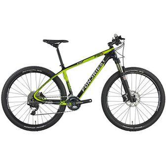 Rower górski MTB FONDRIEST F85 M21 27.5 cala męski Zielono-czarny
