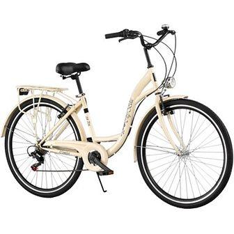 Rower miejski DAWSTAR Citybike S7B 28 cali damski Capuccino