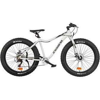 Rower górski MTB INDIANA Fat Bike M18 26 cali męski Szary