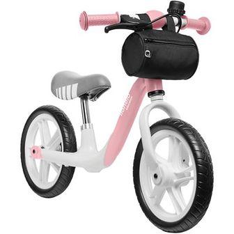 Rowerek biegowy LIONELO Arie Różowy