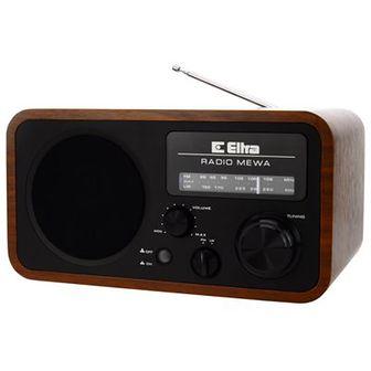 Radio ELTRA Mewa Retro Czarny