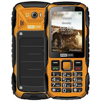 Telefon MAXCOM MM920 Żółty