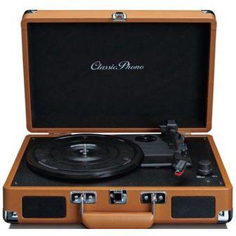 Gramofon LENCO TT10BN Brązowy