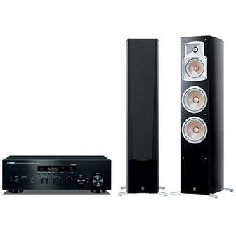 Zestaw stereo YAMAHA MusicCast R-N402D Czarny/NS-555 Czarny