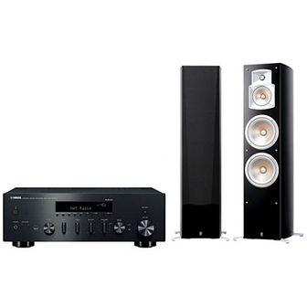 Zestaw stereo YAMAHA MusicCast R-N602 Czarny/NS-777 Czarny
