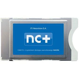Telewizja na kartę NC+ Usługa TNK Start+ (130 kanałów, 1 m-c na start z Canal +) z modułem cam CI+ NAGRA