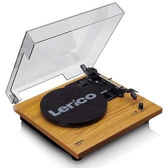 Gramofon LENCO LS-10 Brązowy
