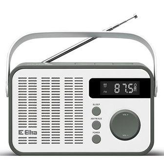 Radio ELTRA Oliwia Biało-szary