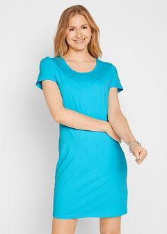 Sukienka ze stretchem, krótki rękaw