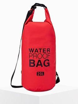 Worek plecak wodoszczelny A272 - czerwony