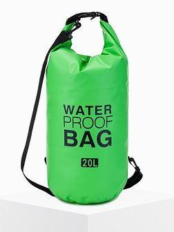Worek plecak wodoszczelny A272 - zielony