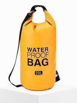 Worek plecak wodoszczelny A272 - żółty