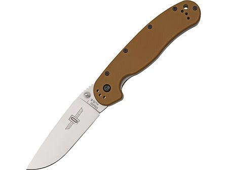 Nóż Ontario RAT 1 Folder Silver Plain 8848CB