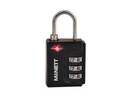 Kłódka Mcnett TSA Lock Black