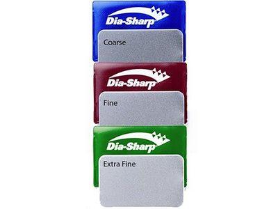 "Zestaw osełek diamentowych DMT 3"" Dia-Sharp Credit Card D3EFC"