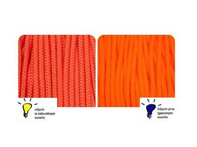 Paracord Type I Accessory Cord Neon Orange