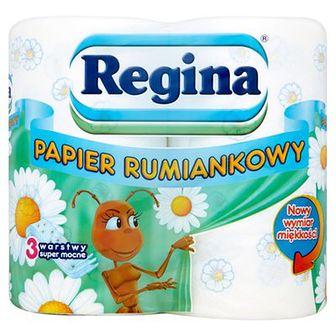 Regina Papier toaletowy rumiankowy 4 szt.