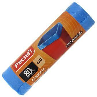 Paclan Classic Worki na śmieci 80 L niebieskie 20 szt.