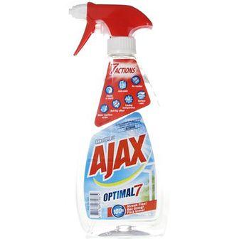 Ajax Optimal 7 Płyn do mycia szyb w sprayu z alkoholem 500 ml