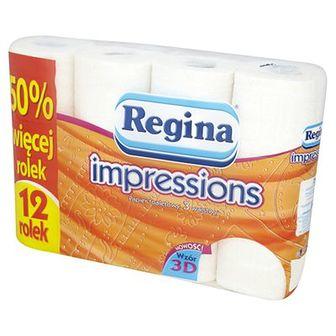 Regina Papier toaletowy Impressions pomarańczowy 12 szt.